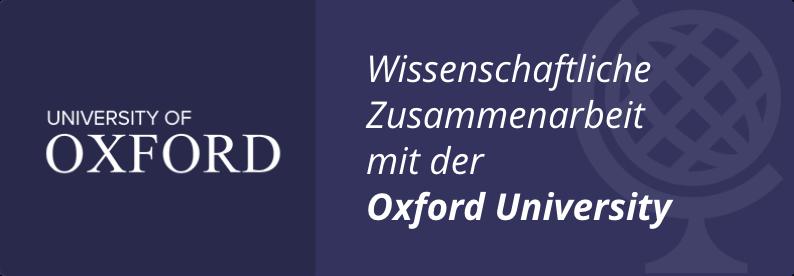 Wissenschaftliche Zusammenarbeit mit der Oxford University