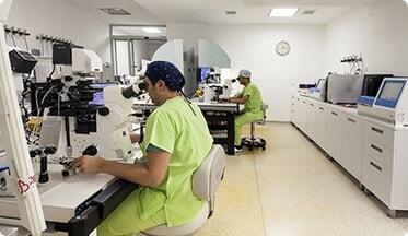 Embryologielabor mit modernster Technologie ausgestattet