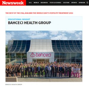 The success of Bahçeci Health Group featured in Newsweek