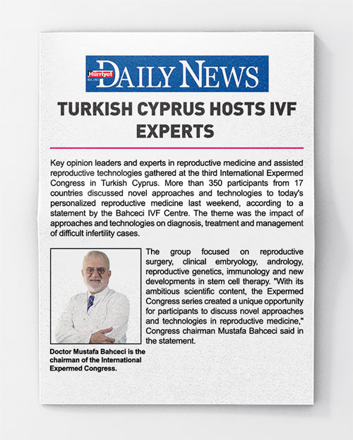 Turkısh Cyprus Hosts Ivf Experts
