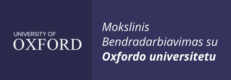 Bashkëpunim Shkencor me Universitetin e Oxfordit