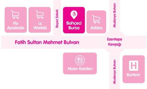 Bahçeci Bursa Tüp Bebek Merkezi Ulaşım Haritası Yol Tarifi
