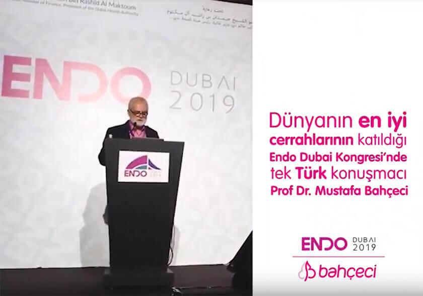 Endo Dubai 2019'da Tek Türk Doktor Mustafa Bahçeci!