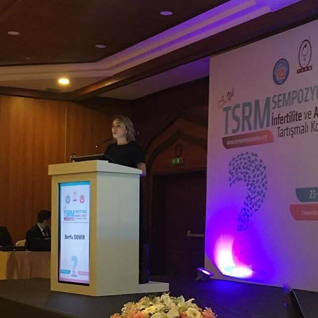Prof. Dr. Berfu Demir TSRM Antalya 2019 Kongresinde!