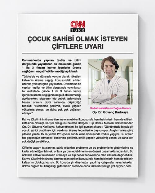 Çocuk Sahibi Olmak İsteyen Çiftlere Uyarı! Doktorumuz CNN Türk'e Anlattı!